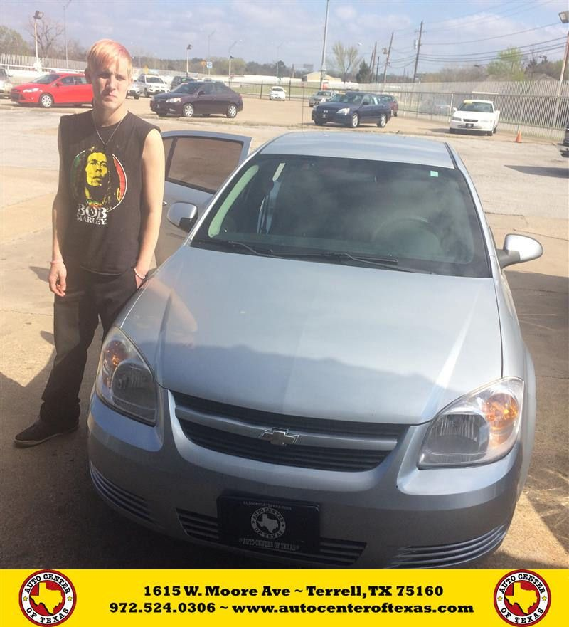Congratulations Carl on your Chevrolet Cobalt from Tito