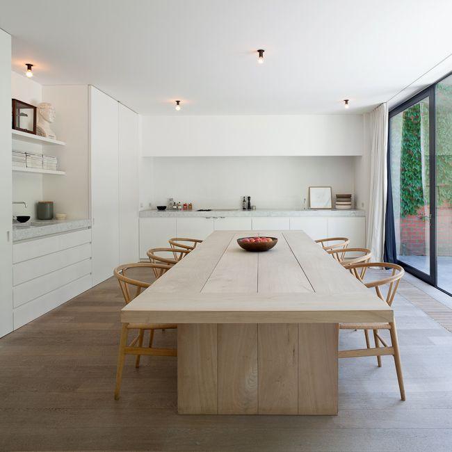 Épinglé par Estelle Ayer sur u003c kitchens dining spaces u003e Pinterest - decoration salle a manger contemporaine