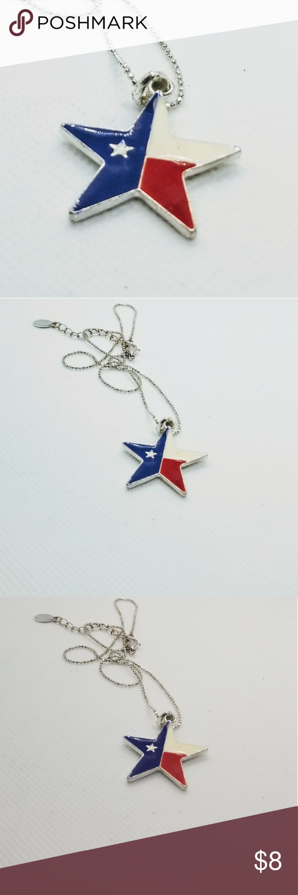 Texas Star Necklace Free With Regular Purchase Star Necklace Texas Star Enamel Necklaces