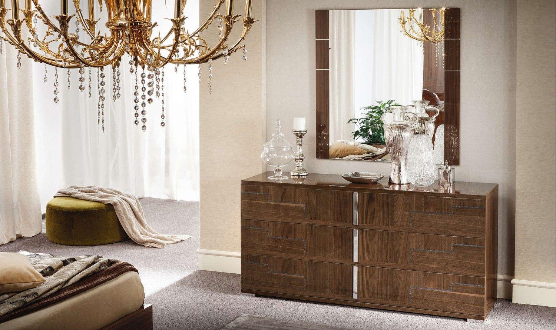 Memphis Dresser and Mirror Italian furniture modern
