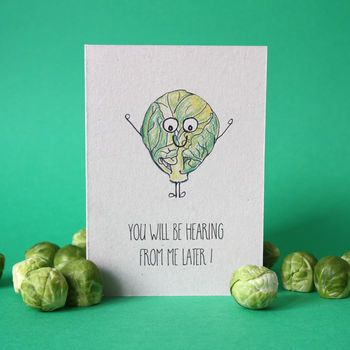 Reoccurring Sprout Christmas Card  Sprouts Card Ideas And