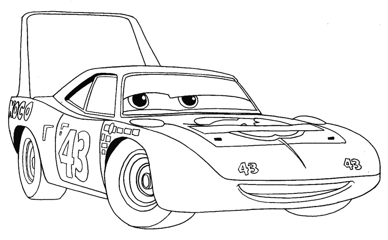 How To Draw King From Disney Pixar S Cars With Easy Step By Step Drawing Tutorial How To Draw Step By Step Drawing Tutorials Step By Step Drawing Disney Cars Movie