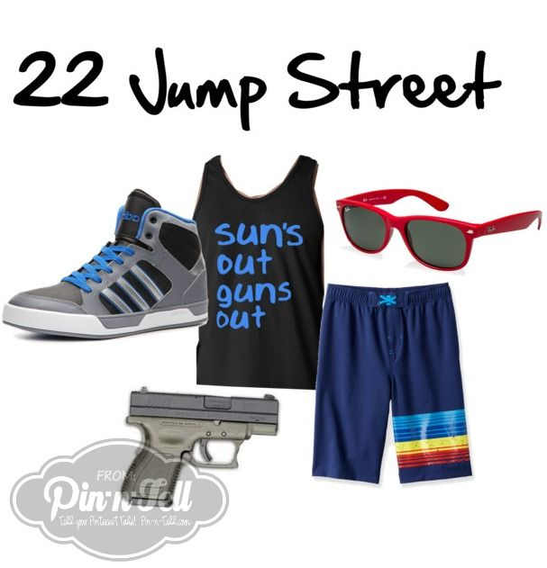 Raid Your Closet And Make Your Own Halloween Costume: DIY 22 Jump Streen