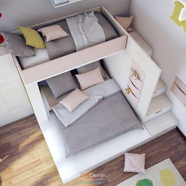 Dormitorios infantiles de estilo minimalista de DA-Design