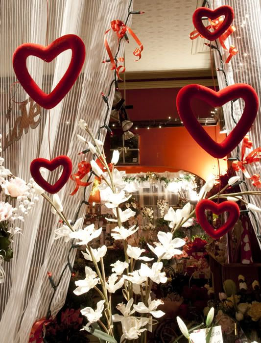 valentine's day flower shop