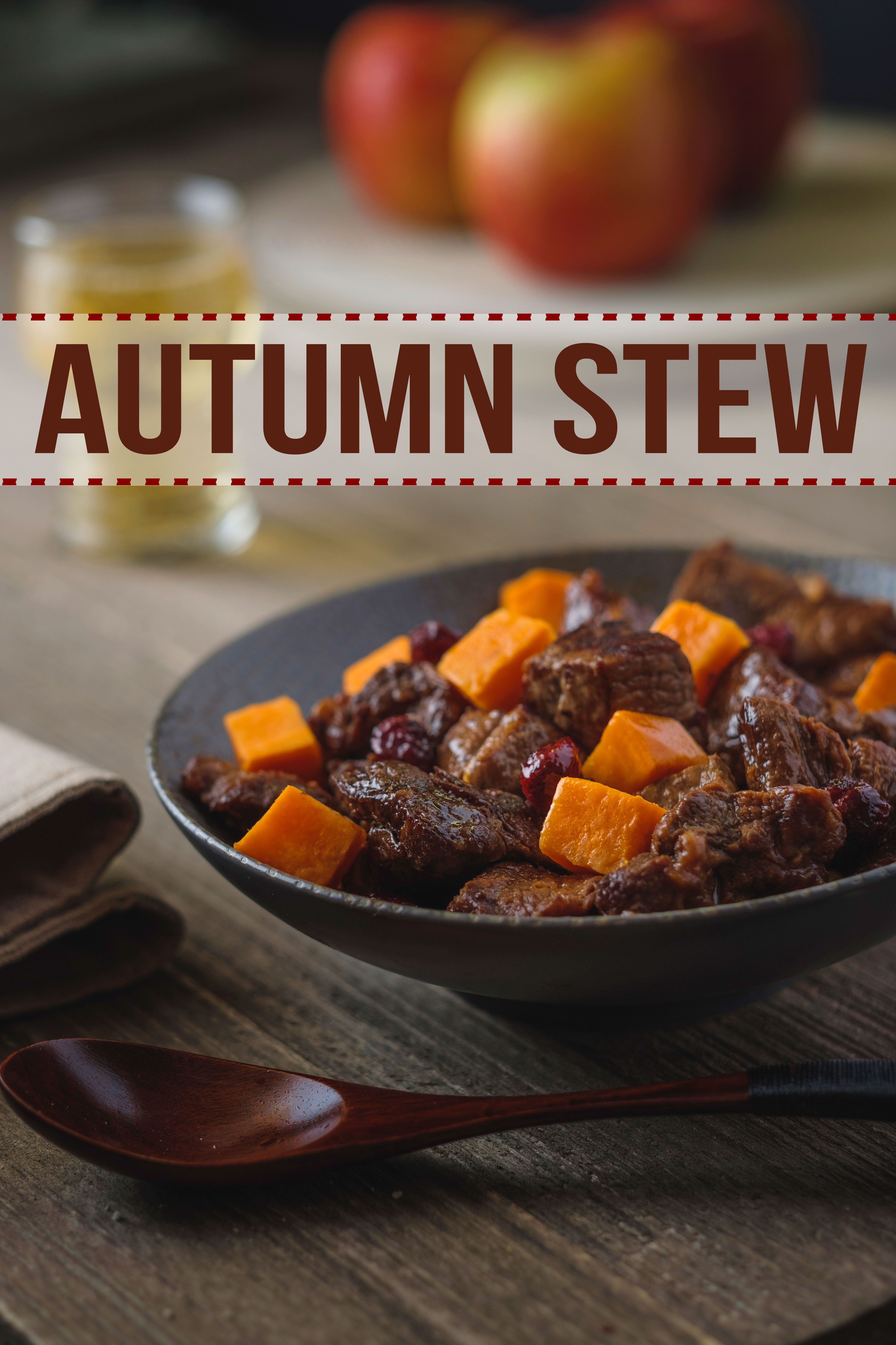 Believe it or not, the apple cider in this beef stew