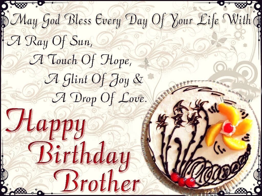Happy Birthday Wishes For Brother Quotes Happy Birthday Quotes