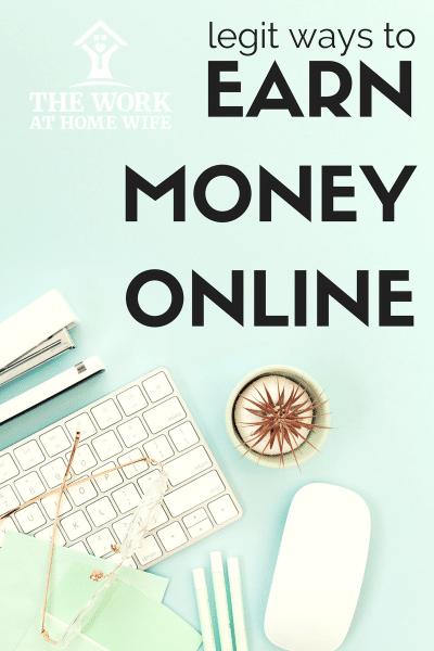 how make money through bitcoin earn extra money online legitimately