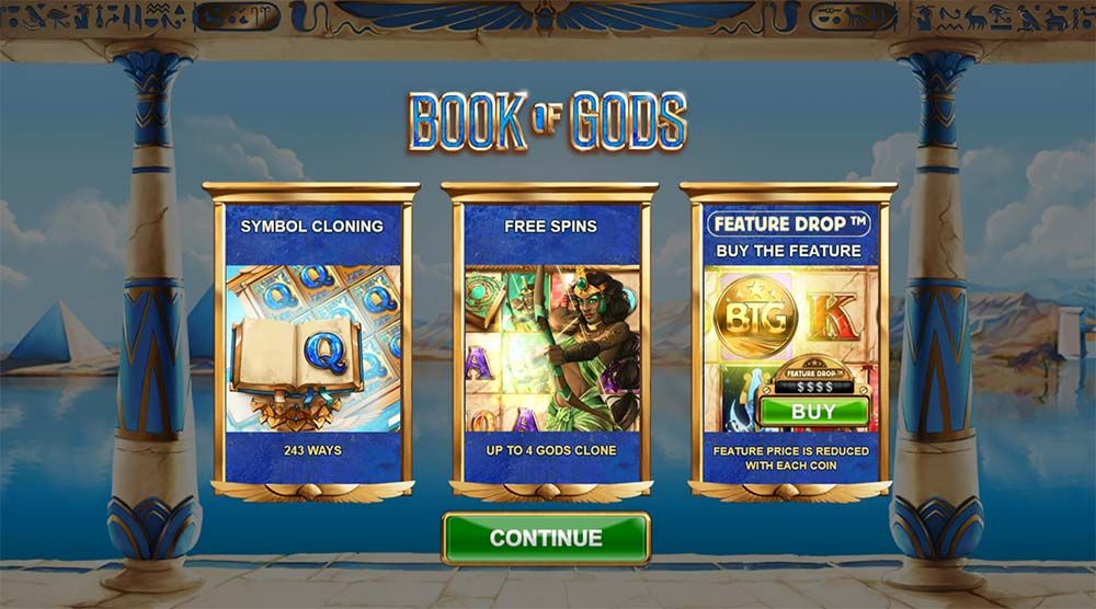 The Big Time Gaming slot Book of Gods has an Egyptian-theme and a very volatile nature! It is a 5 reel, 3 row slot with a total of ways to win.Free spins available in the feature.5/5.Şanlıurfa