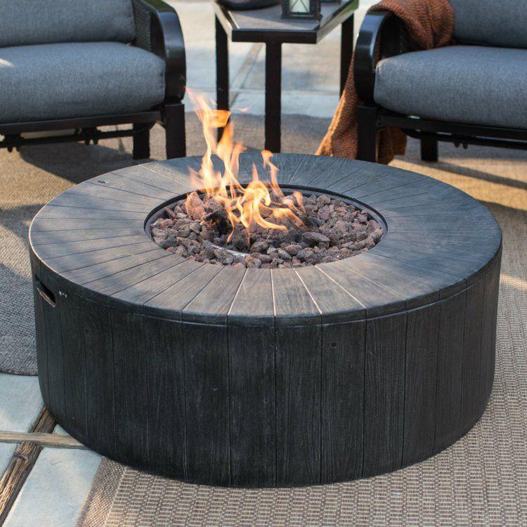 Mit Einem Outdoor Gaskamin Lasst Sich Der Sommer Beliebig Verlangern Gas Feuerstelle Feuerstellen Tisch Feuerstellen Im Freien
