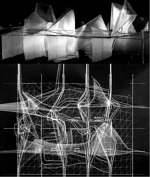 The virtual house any competition 1997 peter for Raumgestaltung architektur