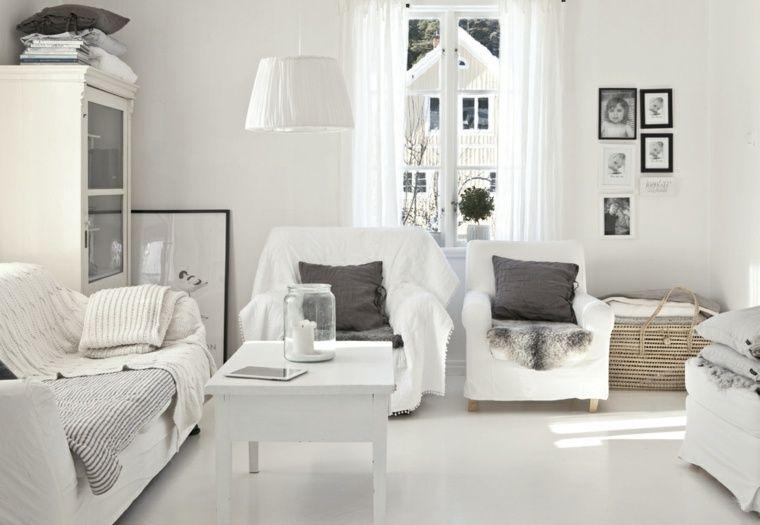 dco salon blanc pour un intrieur lumineux et moderne salons