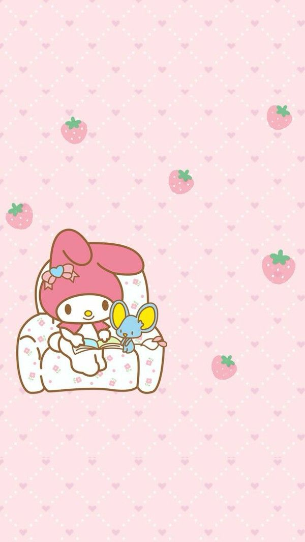 My Melody IPhone Wallpaper Kitty Hello
