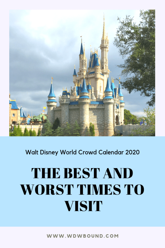 Events At Disney World 2020.Walt Disney World Crowd Calendar 2020 Wdw Bound Posts