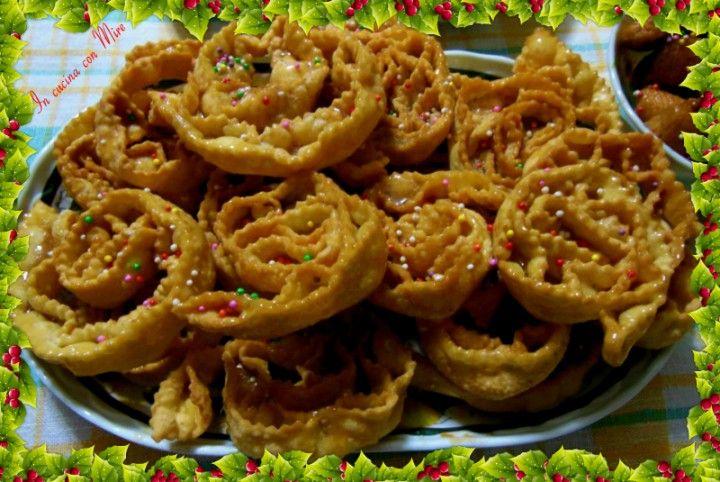 Rose Di Natale Dolci.Cartellate Pugliesi O Rose Di Natale Dolci Tradizionali Del