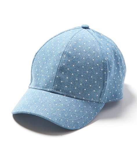 chambray polka dot baseball hat - under  20  Mens Outfitters 6137d3c6fd0c