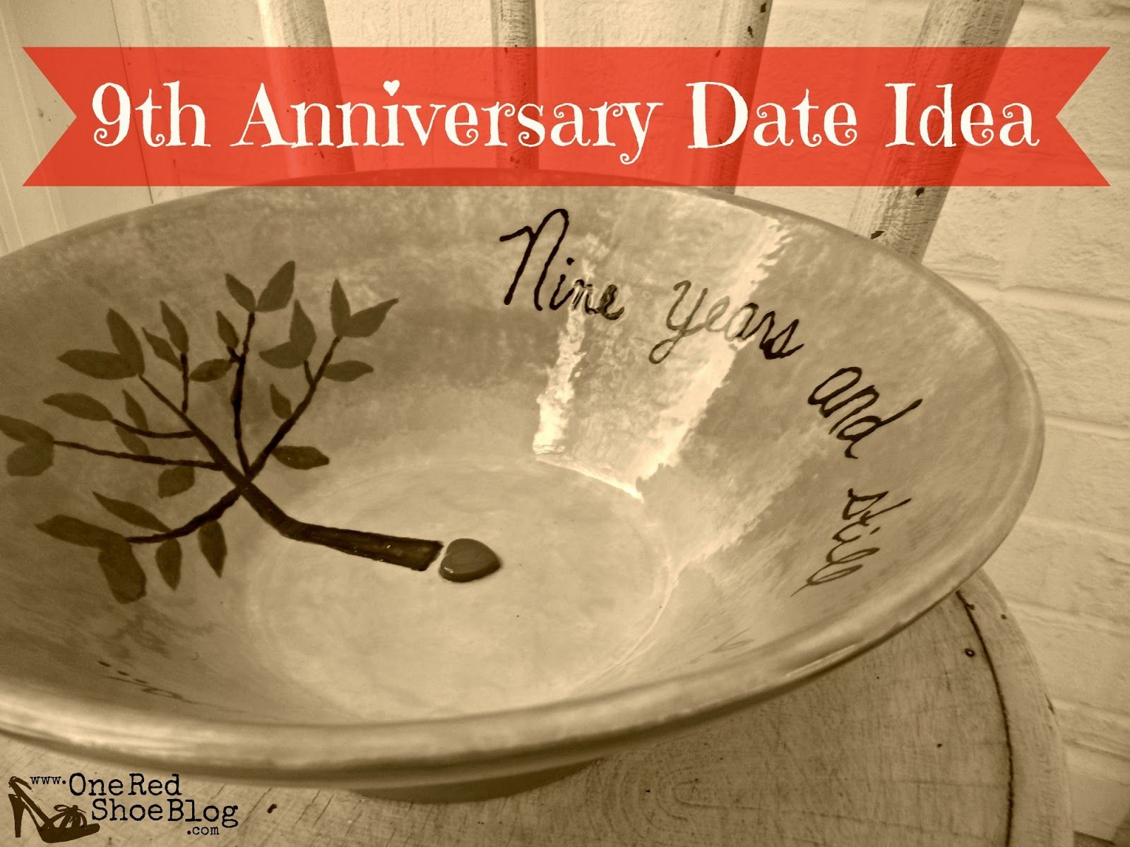 9th Anniversary Pottery Idea For Date Night