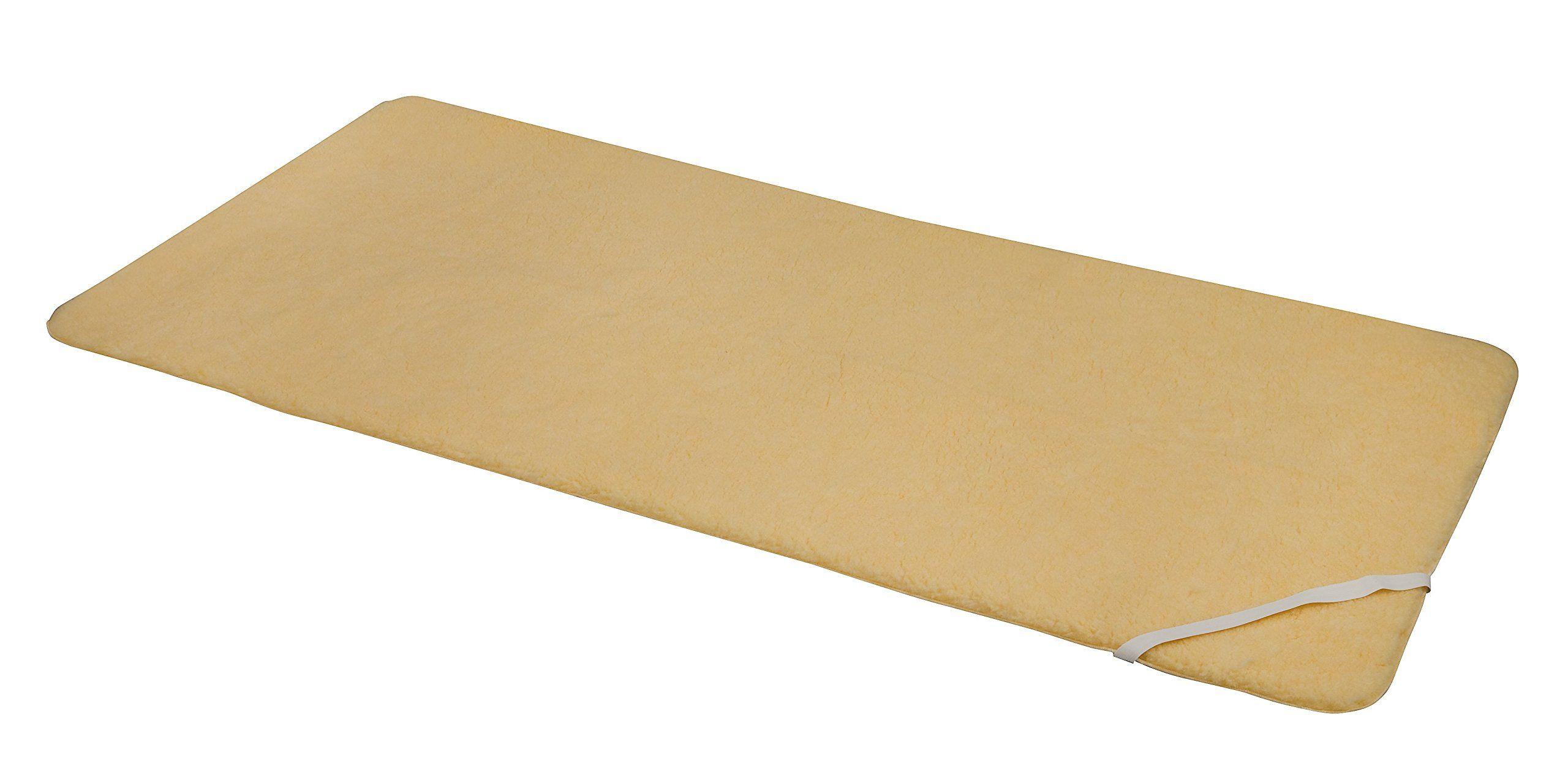 Dmi Synthetic Sheepskin Mattress Pad Hypoallergenic Sheepskin Mattress Topper Washable Sheepskin Bed Pad With Elastic Str Bed Pads Mattress Pad Mattress Topper