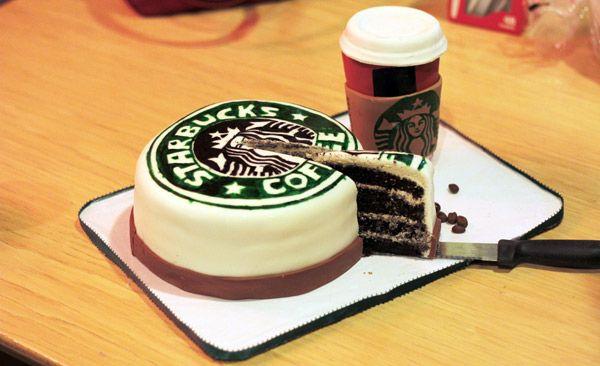 Starbucks Cake #starbuckscake