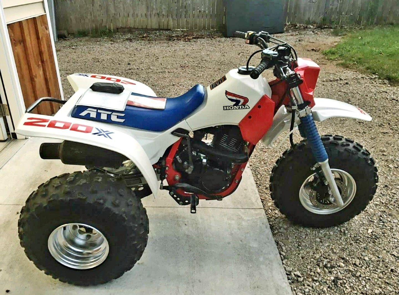 Factory Original 1986 Honda Atc200x Honda Honda Trike Atc
