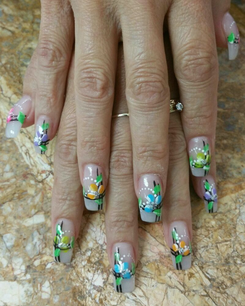 Fashion Nails and Spa - Visalia, CA, United States. Acrylic nails ...