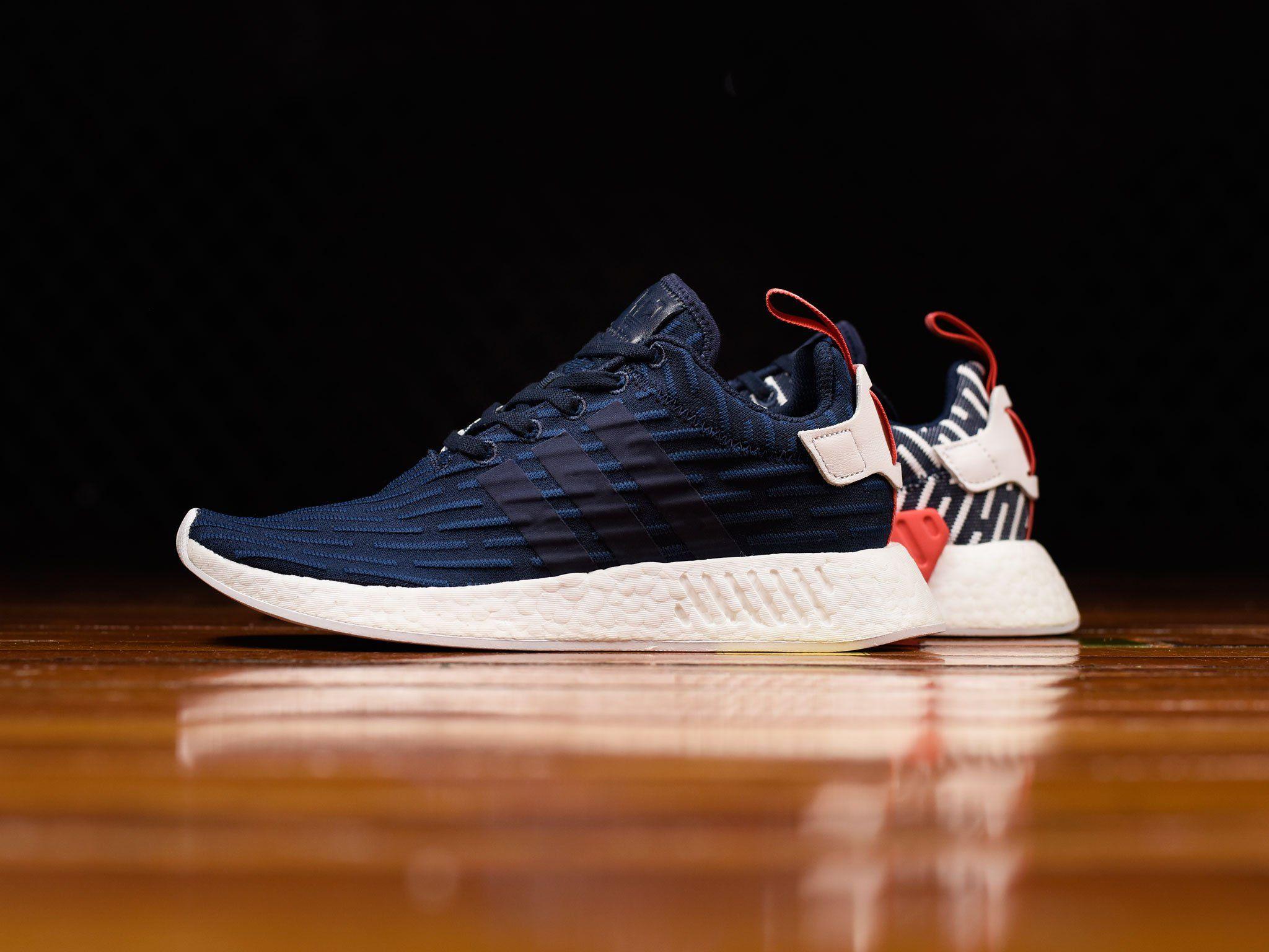 Adidas NMD R2 Navy Boost sneakers | Zapatillas adidas