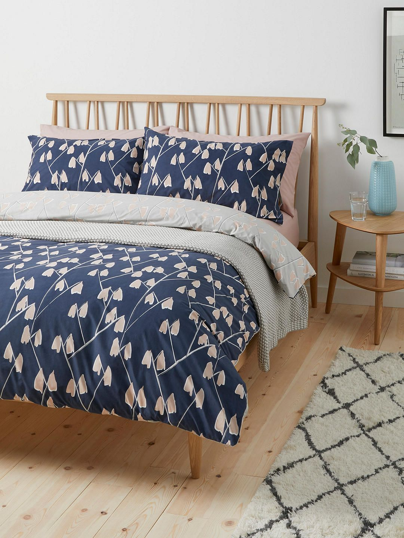 John Lewis Partners Scandi Lotta Print Cotton Duvet Cover And