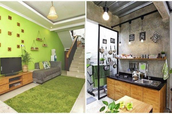 Rumah Damarisa Hunian Keren Dengan Konsep Dapur Industrial Terbuka Rumah Desain Dapur Luar Ruangan Dekorasi Rumah
