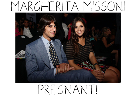 Margherita Missoni Is Pregnant With First Child
