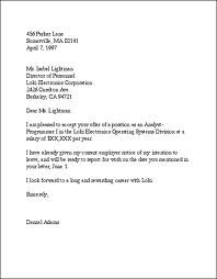 Examples Business Letters For Students Job Resumed Letter Format Proposal Example
