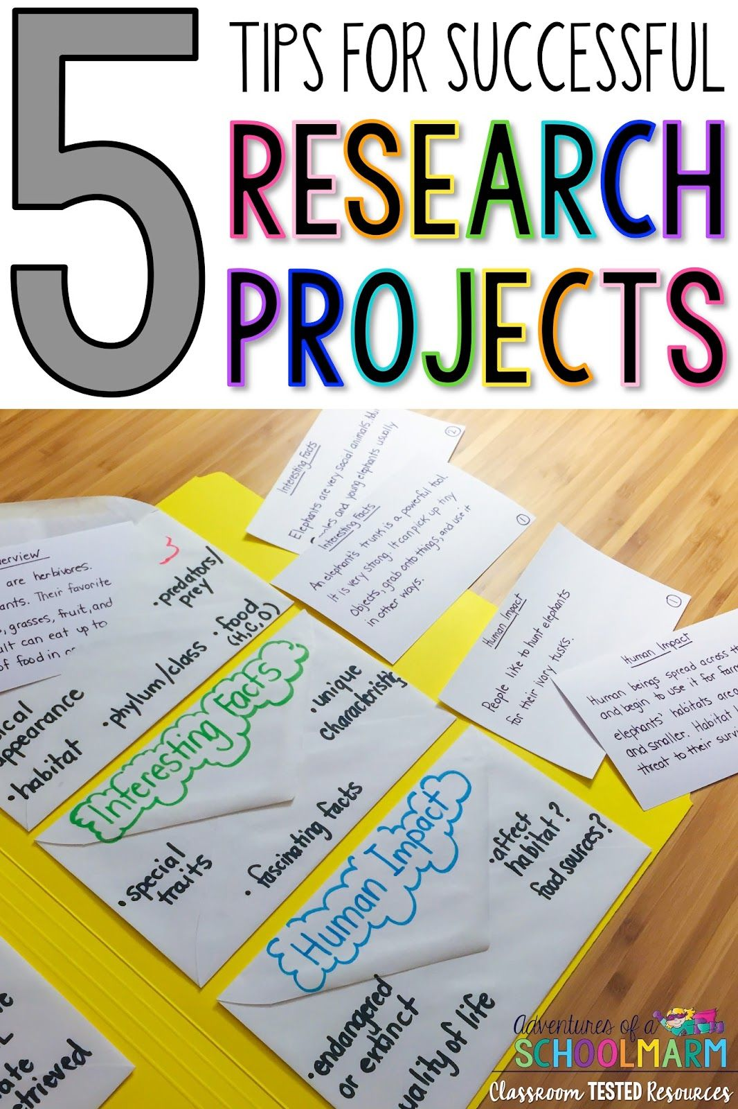 5 Tips For Successful Research Projects