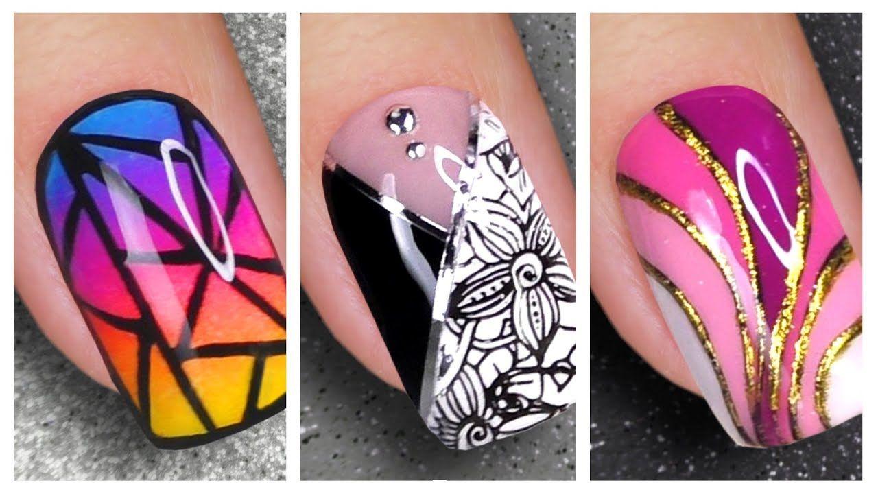 Nail Art Designs 2020 New Nails Art Compilation Youtube In 2020 New Nail Art Nail Art Designs Youtube Nail Art