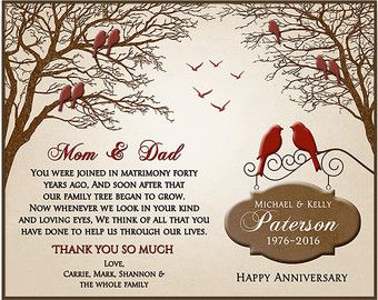 Image Result For 40th Anniversary Decorations Ideas