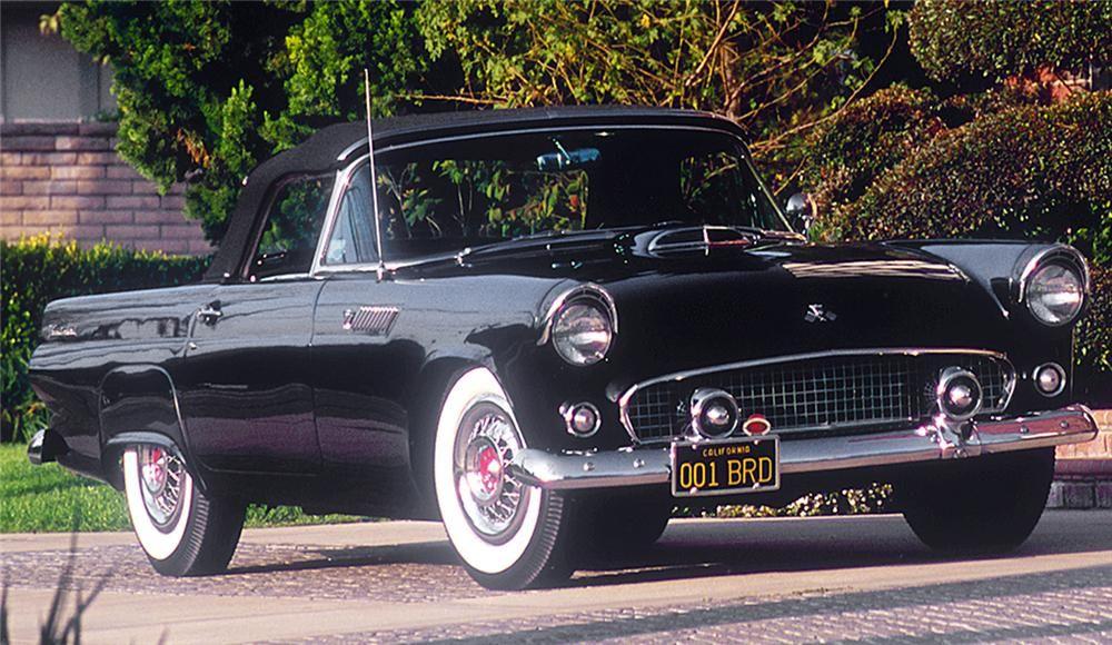 "1955 FORD THUNDERBIRD CONVERTIBLE ""PRODUCTION #1"" - Barrett-Jackson Auction Company - World's Greatest Collector Car Auctions"