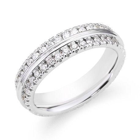 Ladies Diamond Wedding RingAndrews JewelersBuffalo NY trendy