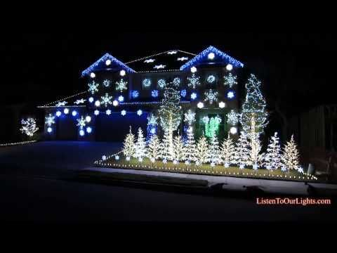 gangnam style christmas light show watch a house blink to this years mega hit