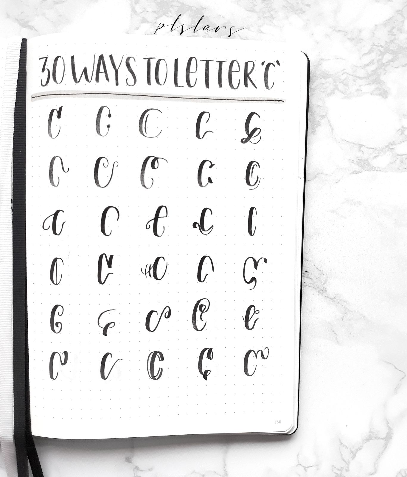 30 Ways To Letter C