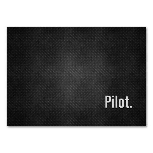 Pilot Cool Black Metal Simplicity Business Card Zazzle Com Metal Business Cards Black Metal Customizable Business Cards