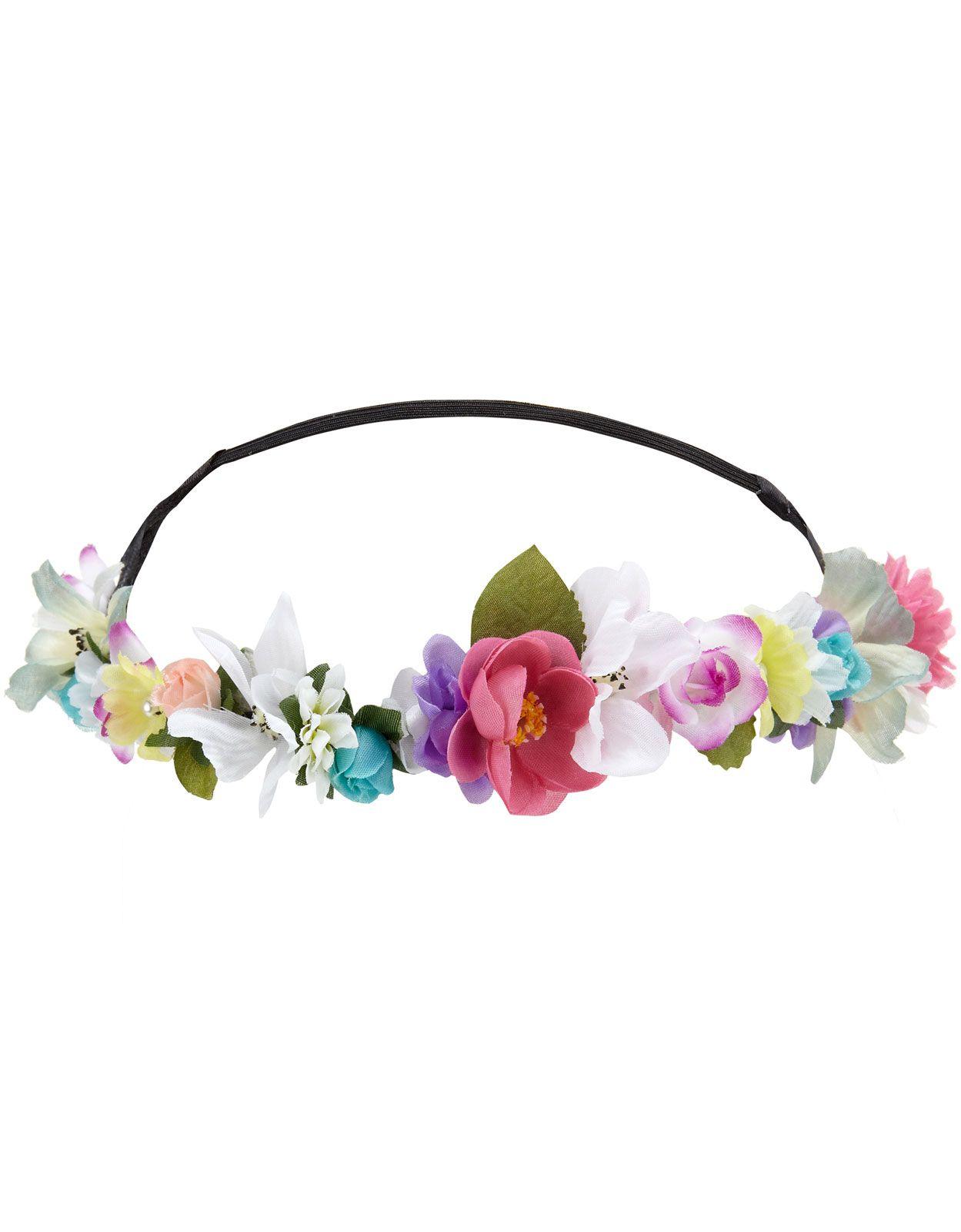 Coachella Flower Crown Bando aa1f418f976