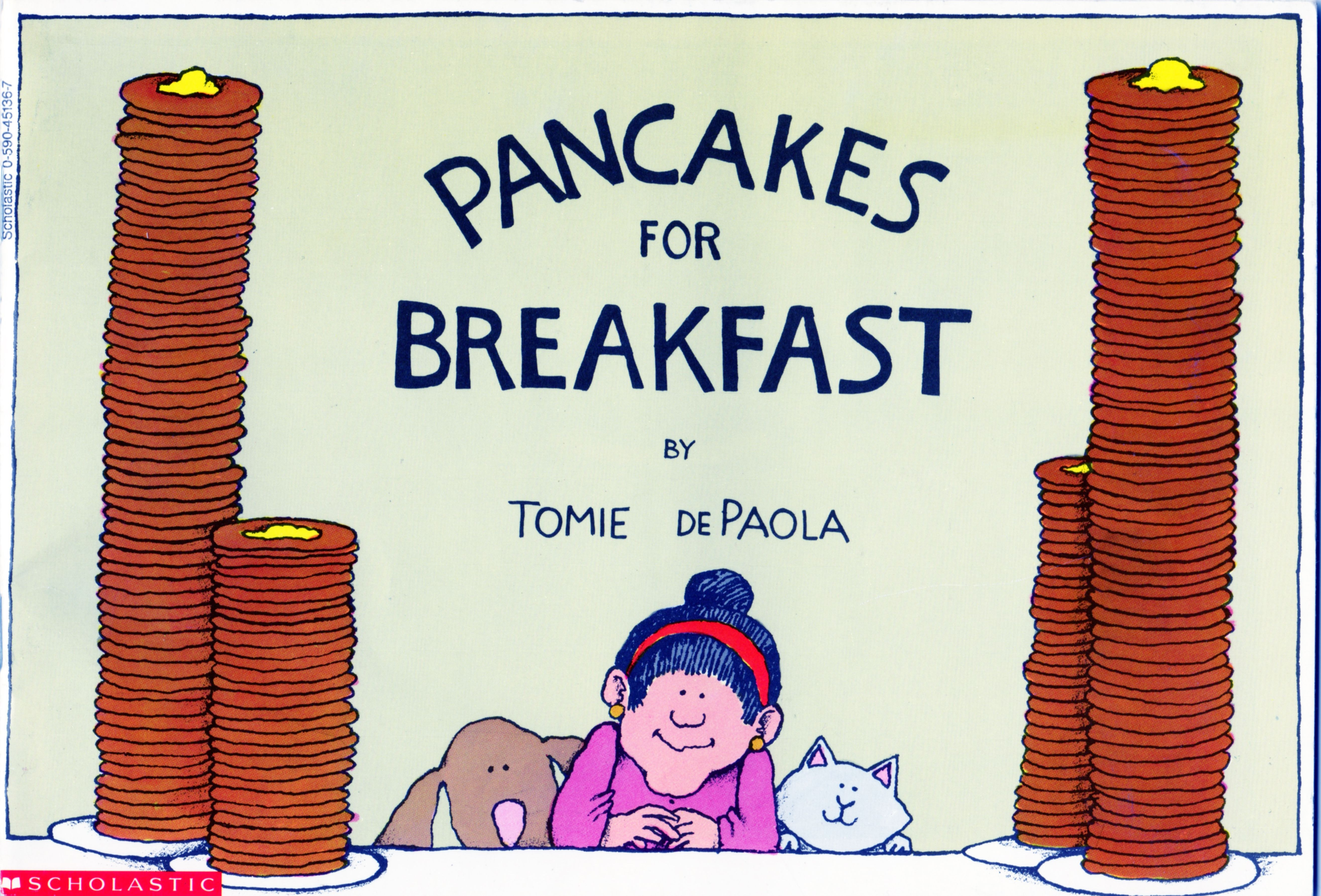 Pancakes For Breakfast By Tomie Depaola With Images
