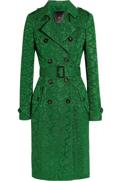 Burberry Prorsum | Coat, Clothes, Green trench coat