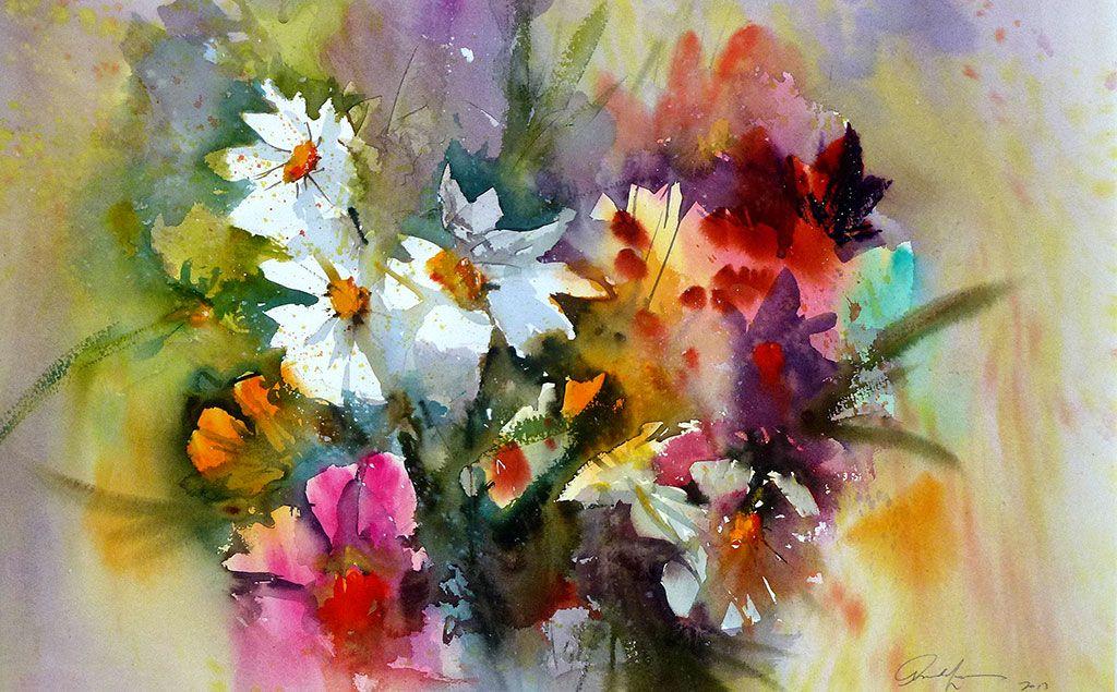 Arnold Lowrey Watercolor Flowers 11 Jpg 1024 635 Watercolor