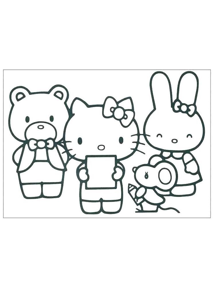 Printable Hello Kitty Coloring Pages For Kids Free Coloring Sheets Hello Kitty Colouring Pages Hello Kitty Coloring Hello Kitty