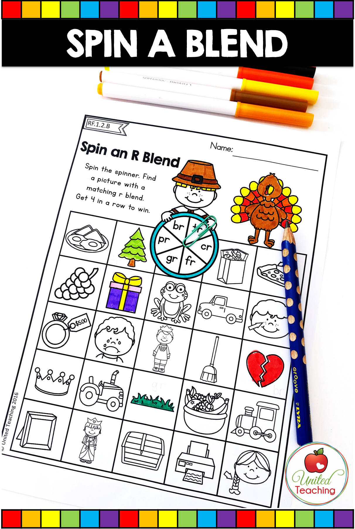Thanksgiving Math And Literacy Activities 1st Grade