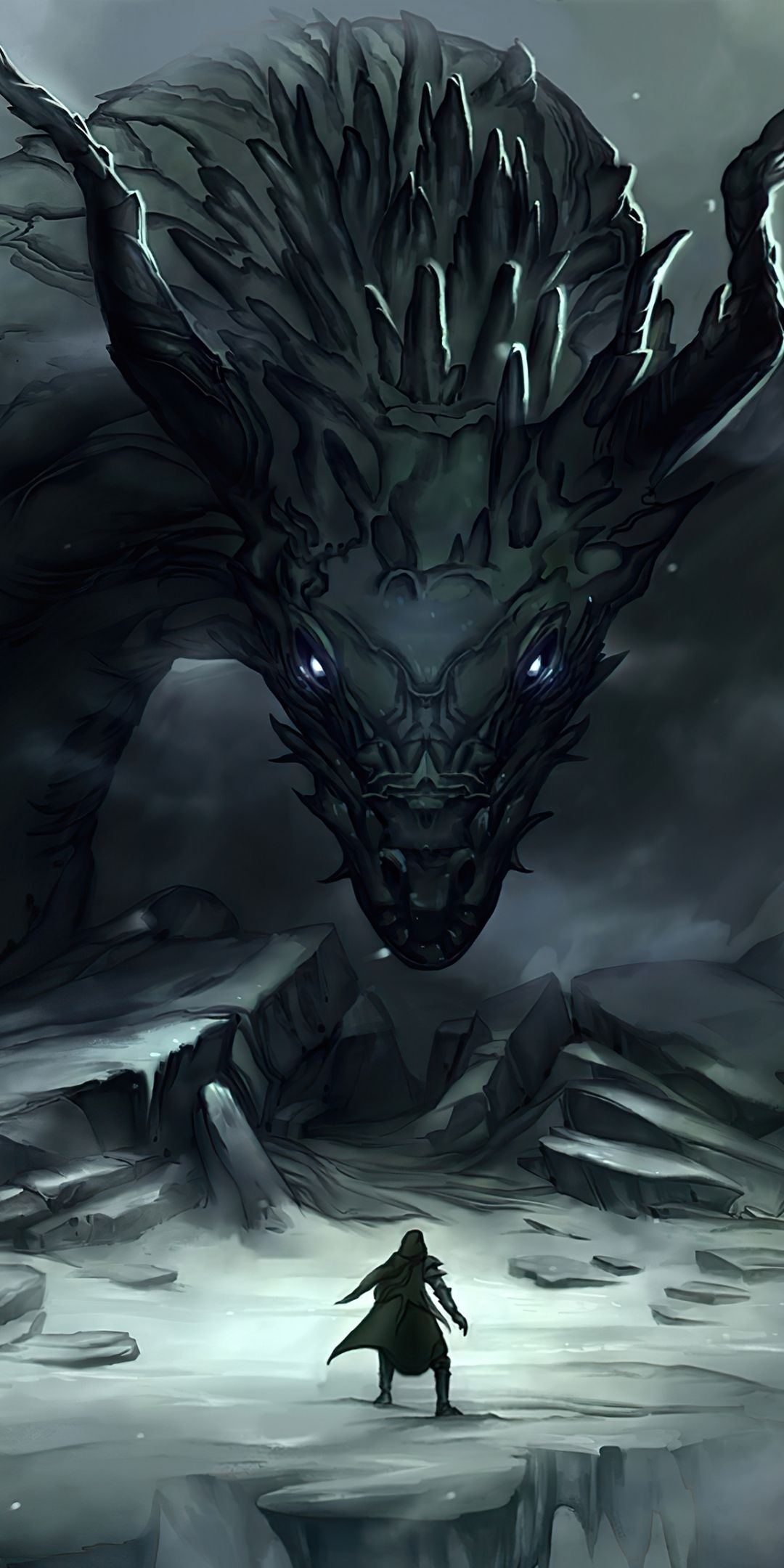 1080x2160 Dragon Master And Dragon Art Fantasy Wallpaper From Android App Dragon Wallpaper Iphone Cool Wallpapers For Phones Phone Wallpaper Images