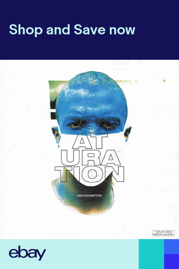 "Brockhampton Saturation Cover Poster Hip Hop Album Art Print 20×20 24×24/"" 32×32/"""
