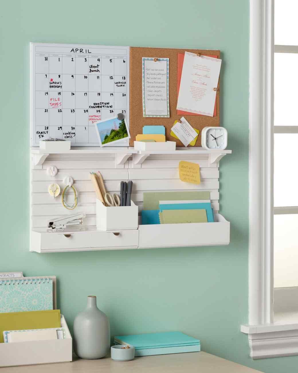 Las 12 mejores ideas para organizar tu escritorio - Organizadores hogar ...
