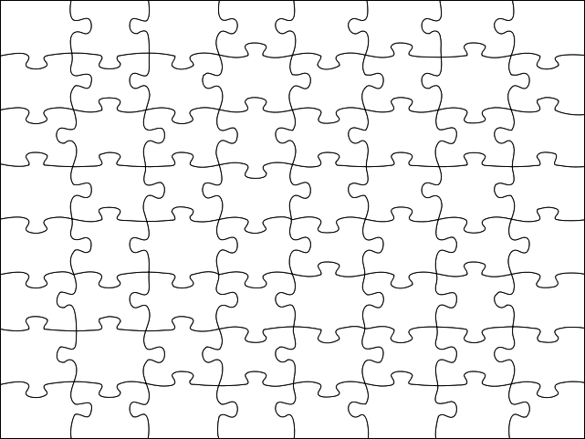Image detail for Blank Jigsaw Puzzle Template Free Printable – Blank Puzzle Template
