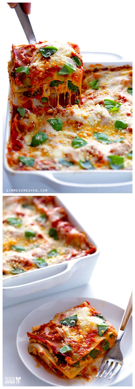10 Minute Spinach Lasagna Recept Best Easy Recipes