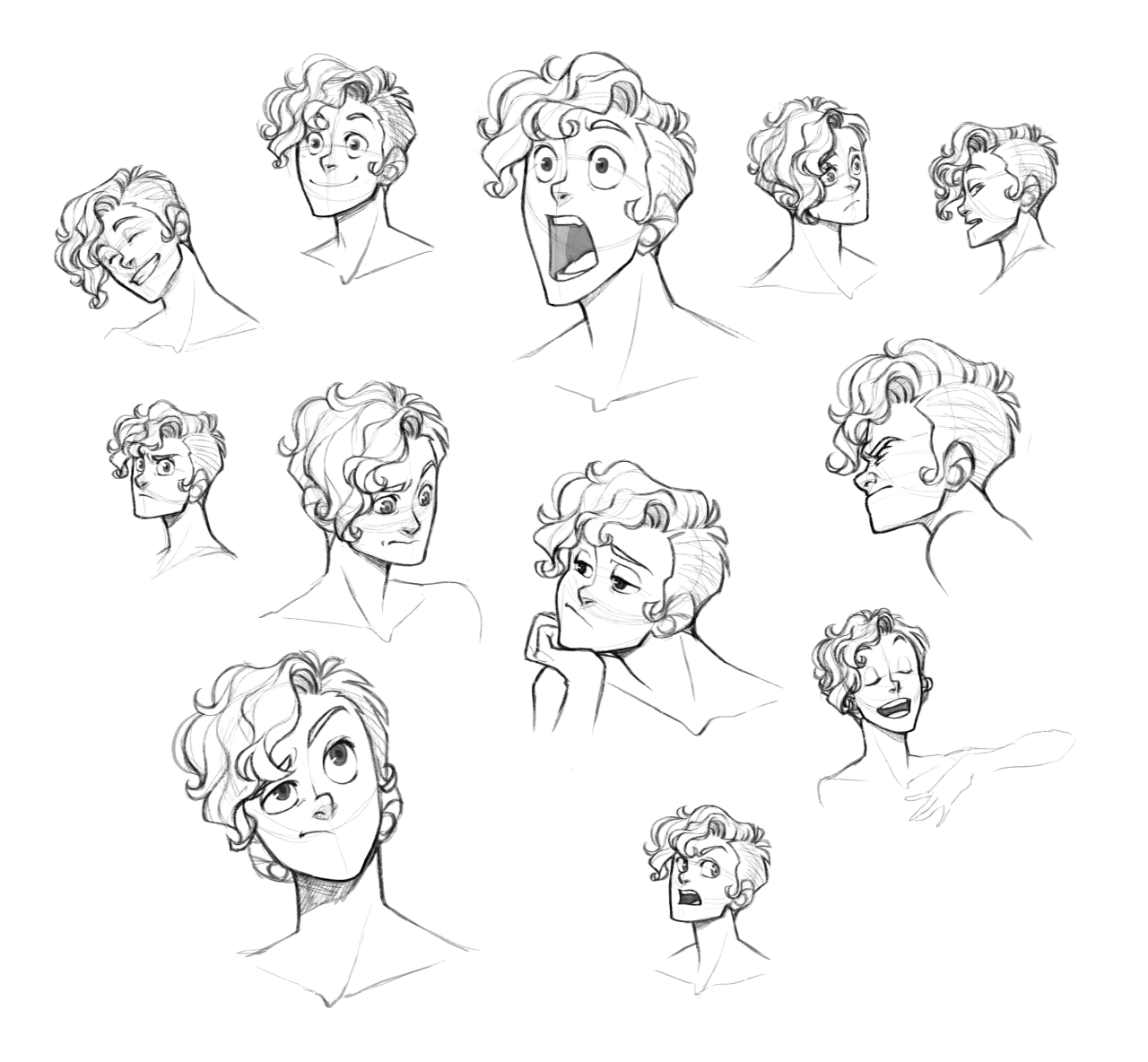 50 Male Hairstyles Revamped By Orangenuke On Deviantart Manga Hair Anime Boy Hair Guy Drawing